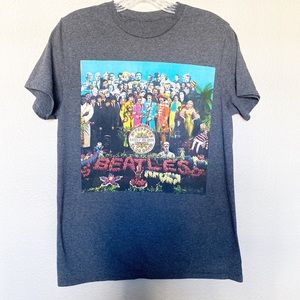 Beatles Graphic Band Tee